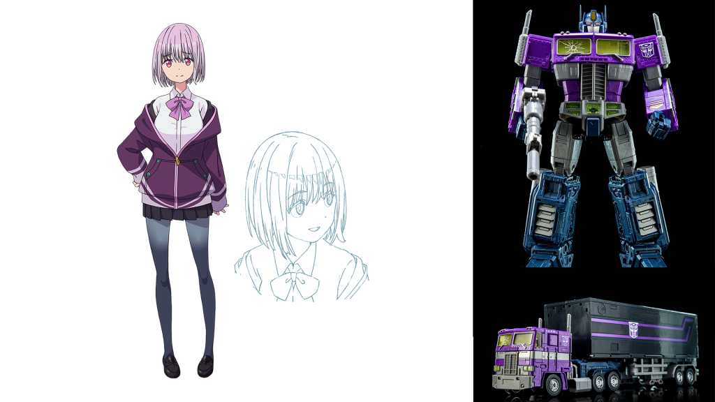 SSSS.Gridman Akane Shinoju Optimus Prime (Shattered Glass)