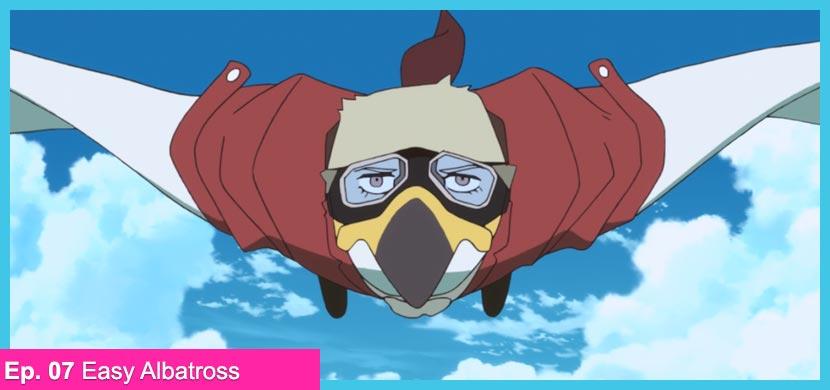 Staff, Key animation, Reference e altro dal settimo episodio di Brand New Animal.