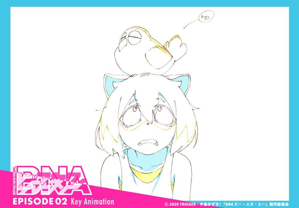BNA Key Animation 01x02 03