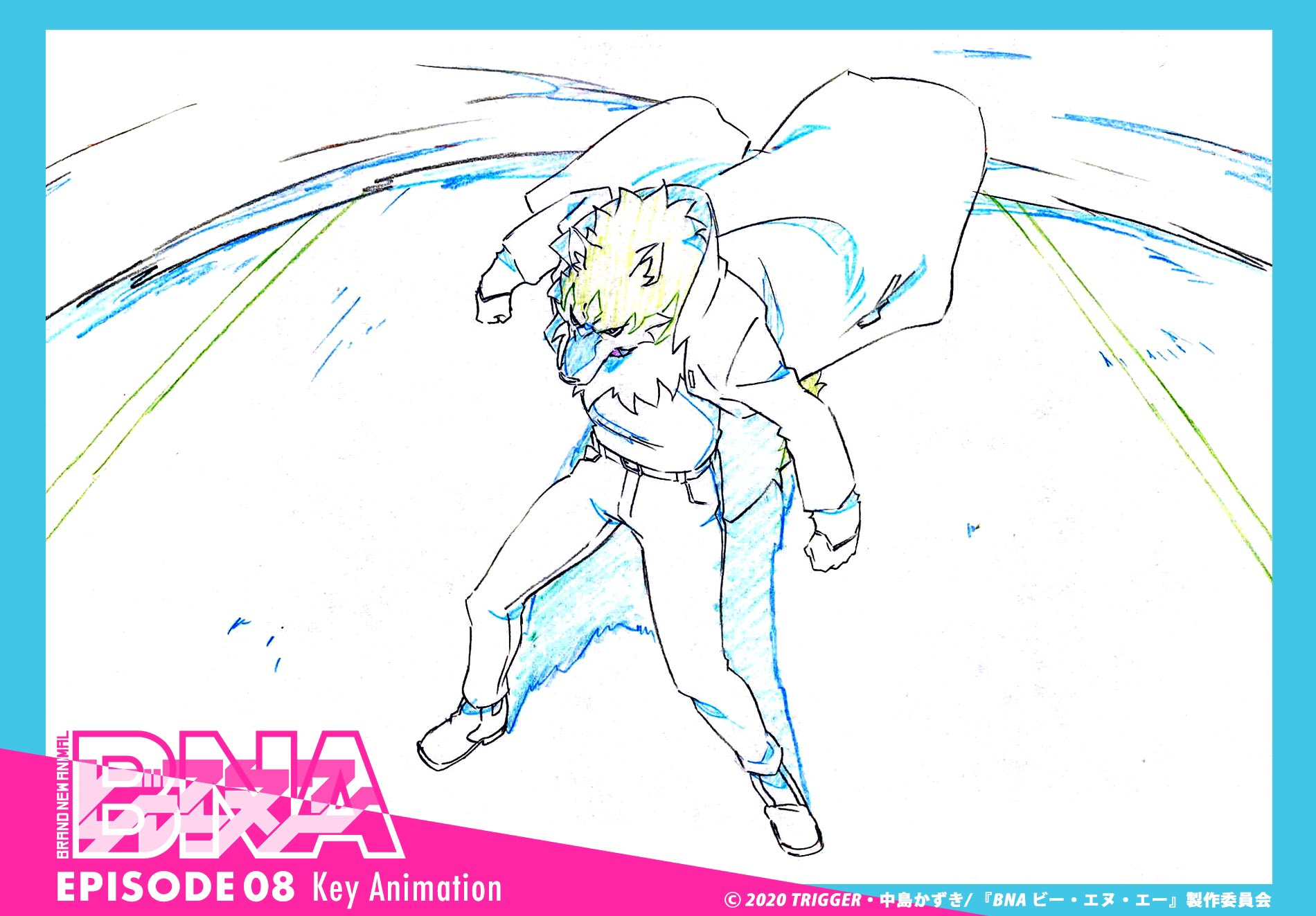 BNA Key Animation 01x08 02