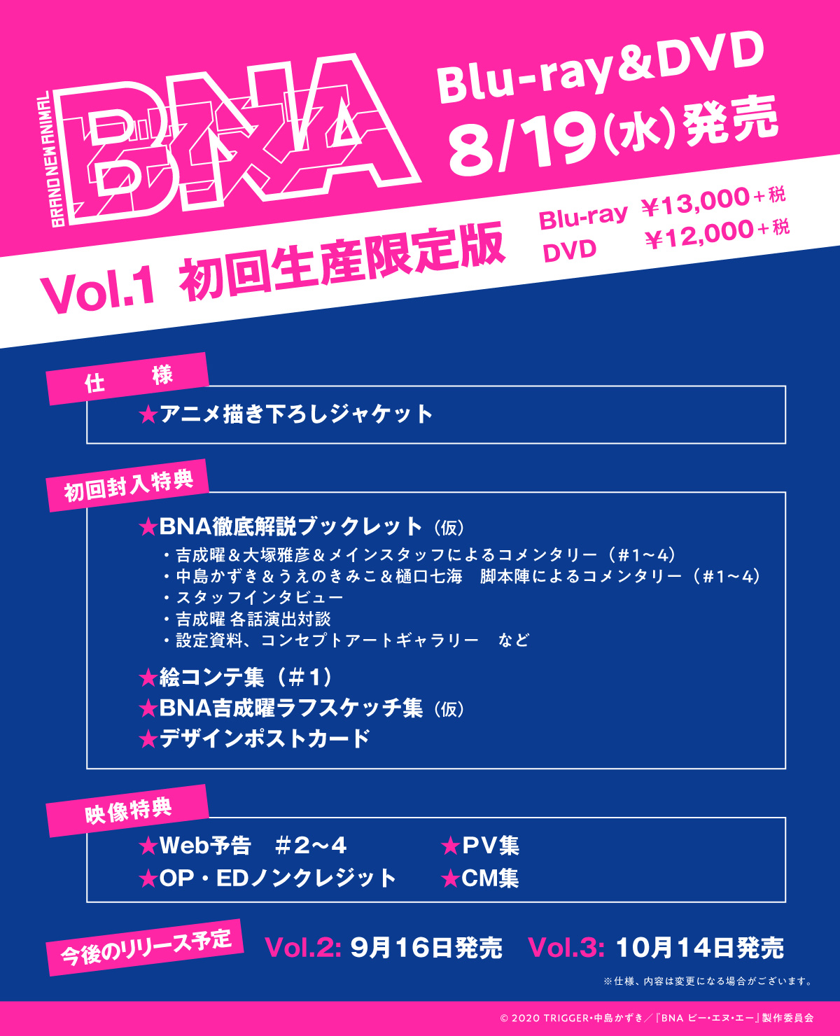 BNA Box BD DVD