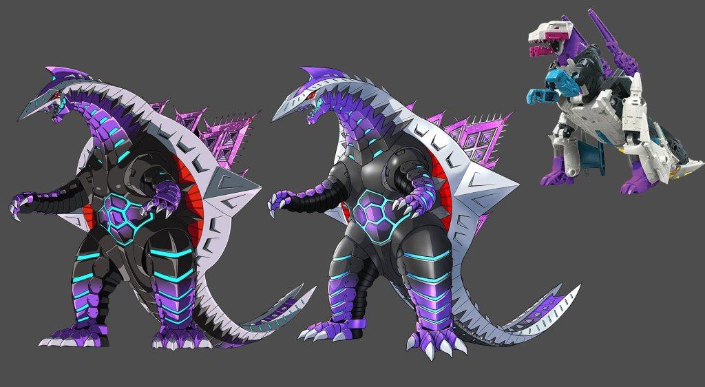 SSSS.Dynazenon 01 - Kaiju - Shalbandes (Generations WFC E Voyager Snapdragon)